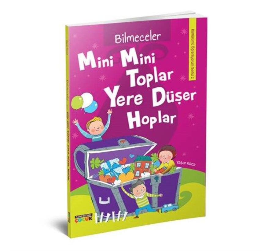 Mini Mini Toplar Yere Düşer Hoplar