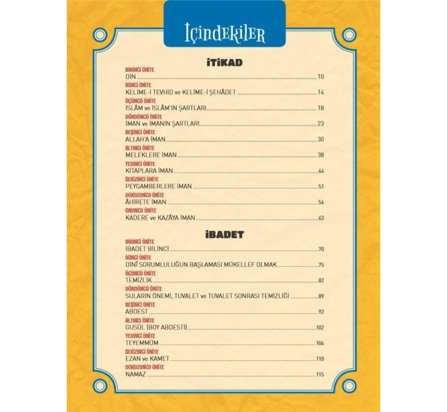 Etkinliklerle Güzel Dinimi Öğreniyorum 11 - 14 Yaş