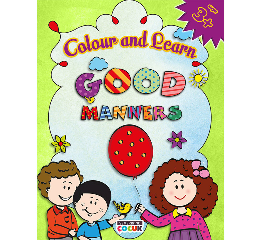 Colour and Learn I Good Manners