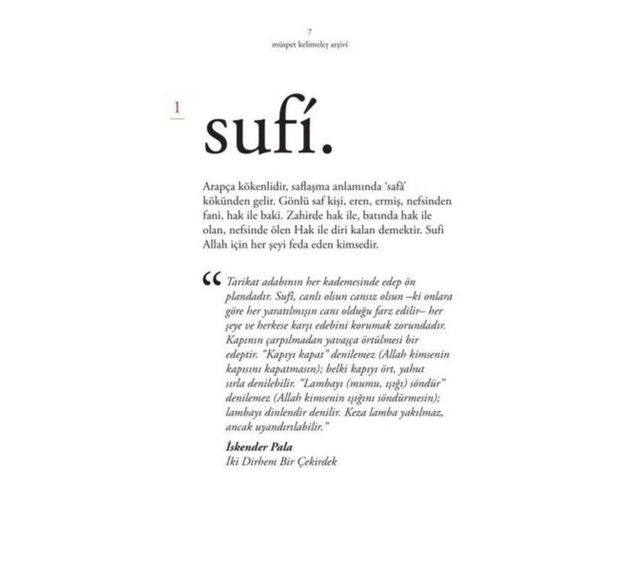 Sufi Sözlük Müspet Kelimeler Arşivi