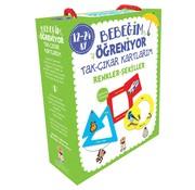 Sincap Kitap Bebeğim Öğreniyor Tak Çıkar Kartlarım I 12 - 24 Ay