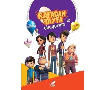 Erdem Çocuk Rafadan Tayfa ile Okuyorum Seti-5 Kitap Takım