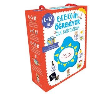 Sincap Kitap Bebeğim Öğreniyor İlk Kartlarım  I 0-12 Ay