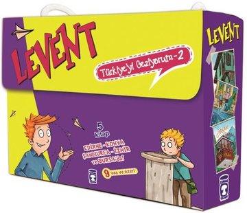 Timaş Çocuk Levent Türkiye'yi Geziyorum 2 Set – 5 Kitap