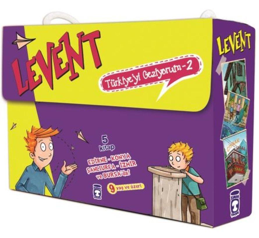 Levent Türkiye'yi Geziyorum 2 Set – 5 Kitap