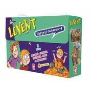 Timaş Çocuk Levent Türkiye'yi Geziyorum 4 Set  I 5 Kitap