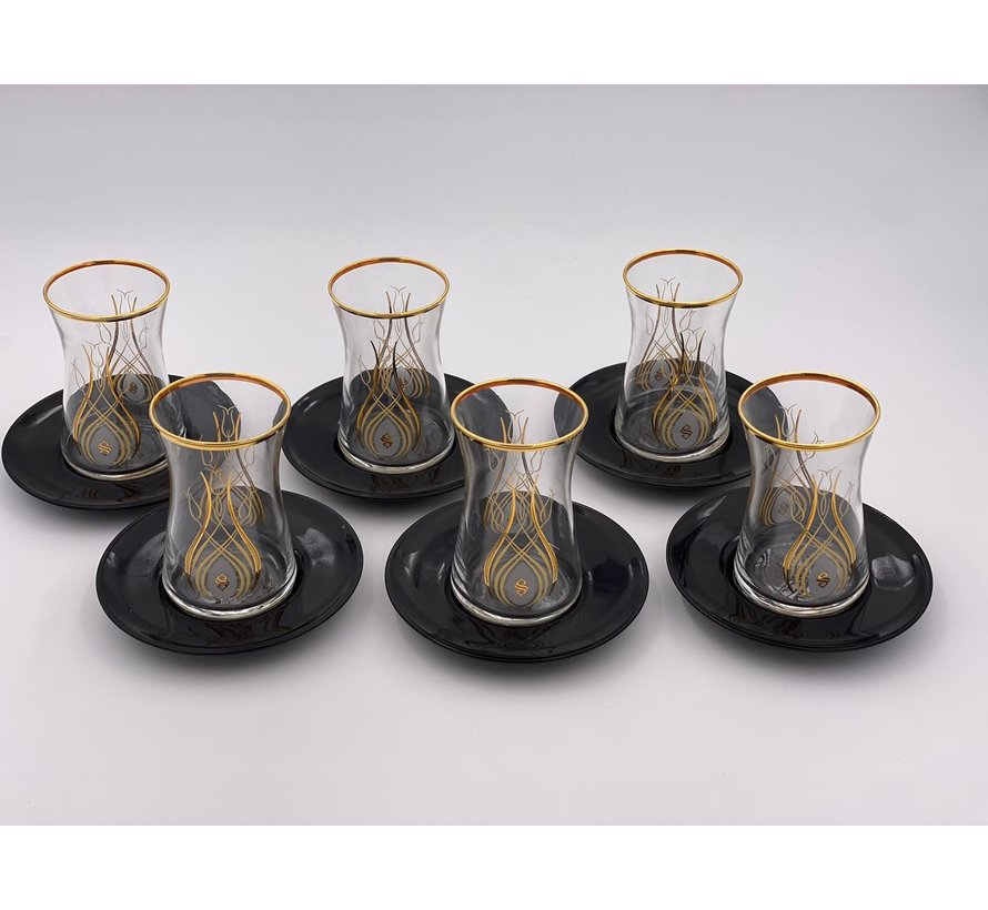 Lale Koleksiyonu 12 Parça Çay Seti