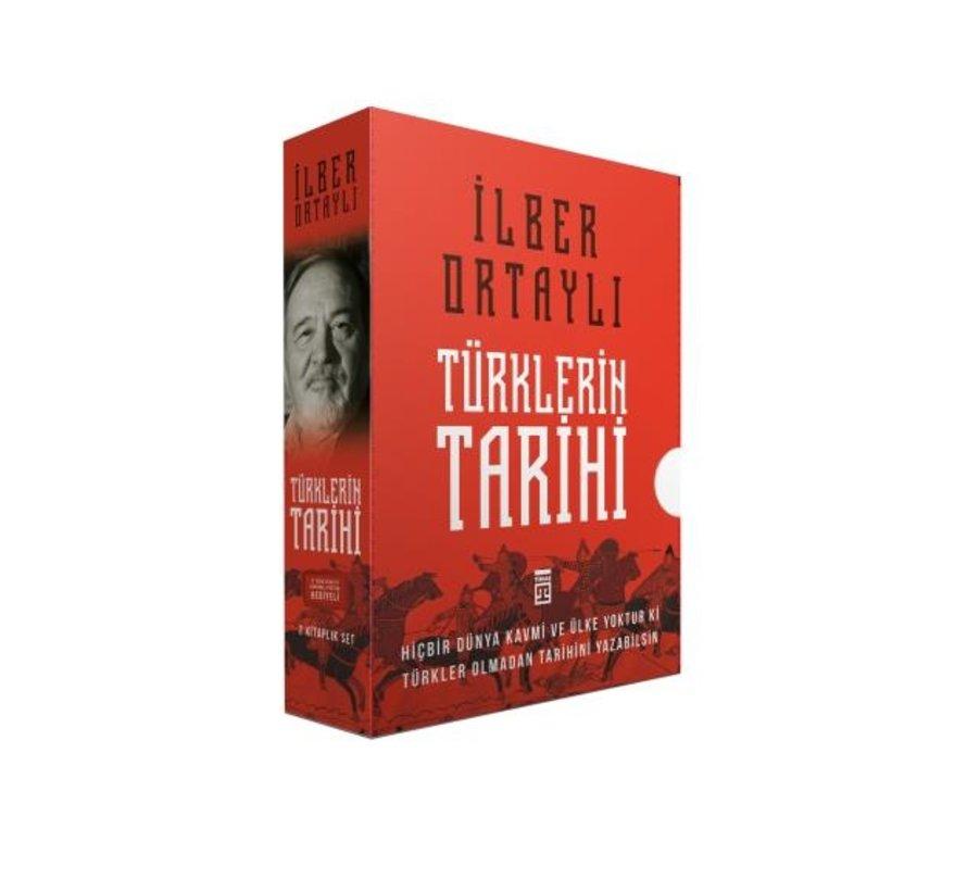 Türklerin Tarihi Seti I İlber Ortaylı  I 2 Kitap