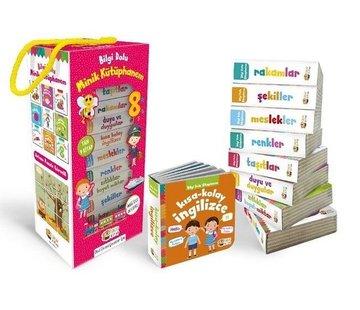 Sincap Kitap Bilgi Dolu Minik Kütüphanem 9 Kitap I Pembe Kutu