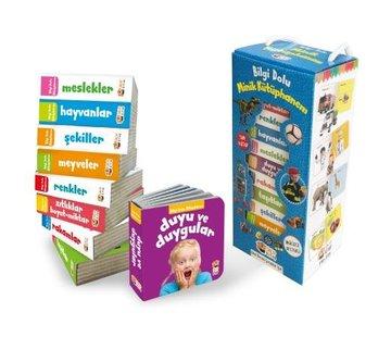 Sincap Kitap Bilgi Dolu Minik Kütüphanem 9 Kitap  I Mavi Kutu
