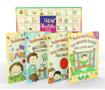 Erol Medien Verlag Malen und Lernen I 4 Bücher Set