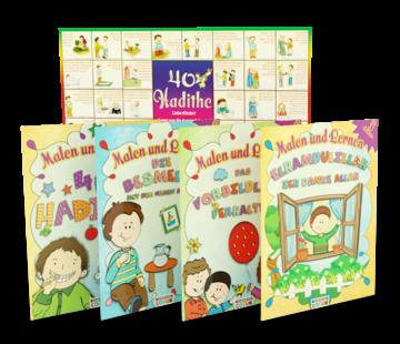 Erol Medien Verlag Malen und Lernen I Kinderbücher Set