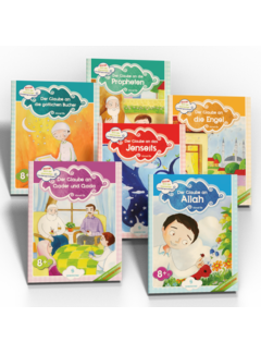 Erol Medien Verlag Ahmet lernt die Islamischen Glaubensgrundsätze 6 Bücher Set