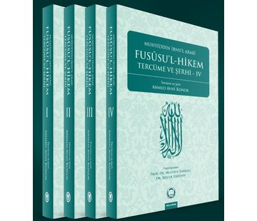 İfav Yayınları Fususul Hikem Tercüme ve Şerhi 4 Cilt Takım