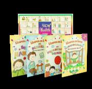 Erol Medien Verlag Kleuren en Leren I 4 Boeken