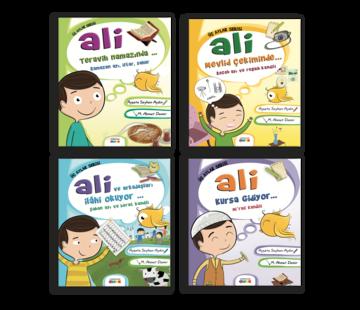 Semerkand Çocuk Yayınları Ali Üç Aylar Serisi (4 Kitap)