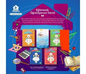 Semerkand Çocuk Yayınları Eğlenerek Öğreniyorum Serisi (5 Kitap)