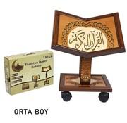 Semerkand Store Höhenverstellbarer Holz Qur'an-Ständer Größe M