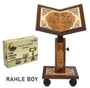 Semerkand Store Höhenverstellbarer Holz Qur'an-Ständer Größe L