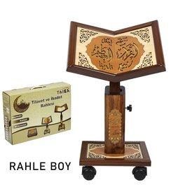 Höhenverstellbarer Holz Qur'an-Ständer Größe L