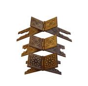 Semerkand Store MDF Holz Qur'an-Ständer (3 verschiedene Größen)