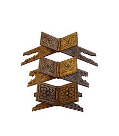 MDF Holz Qur'an-Ständer (3 verschiedene Größen)