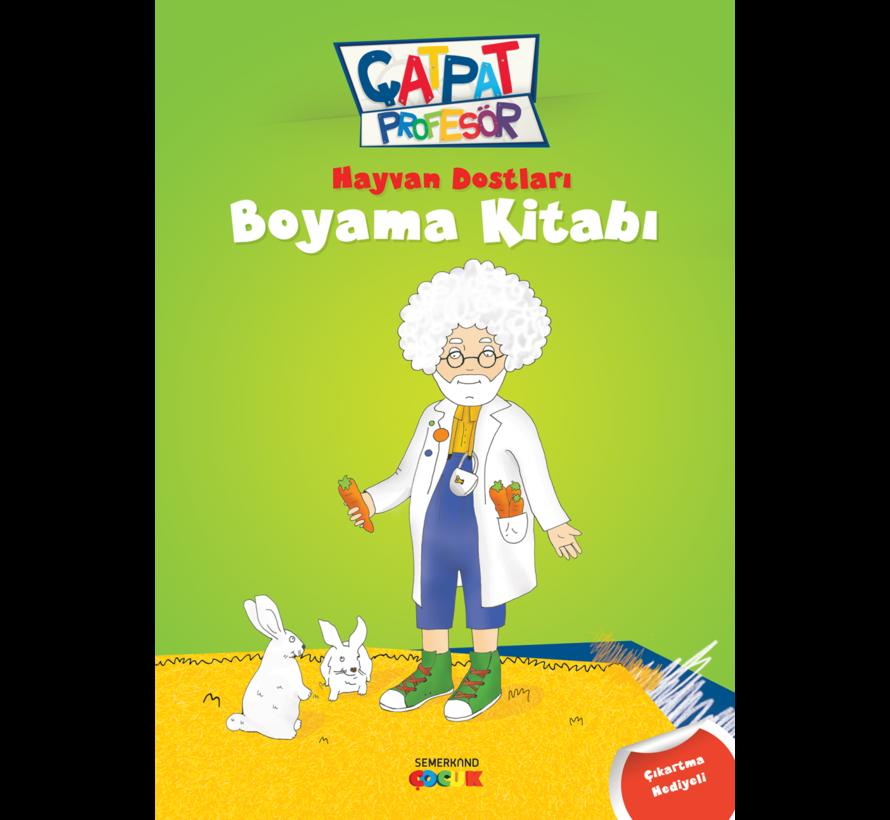 Çatpat Profesör Boyama Seti 3 Kitap