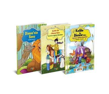 Semerkand Çocuk  Kelile ile Dimne Serisi 3 Kitap