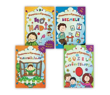 Semerkand Çocuk Yayınları Boyuyorum ve Öğreniyorum | 4 Kitap