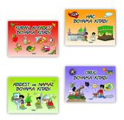 Fidan Yayınları Fidan Boyama Serisi 4 Kitap
