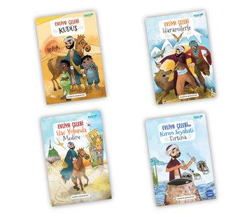Semerkand Çocuk  Evliya Celebi Serisi 4 Kitap