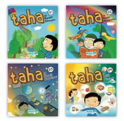 Semerkand Çocuk  Taha Çizgi Roman Serisi 4 Kitap
