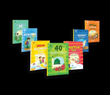 Mavi Uçurtma Yayınları Mini Kitaplar Serisi I 7 Kitap