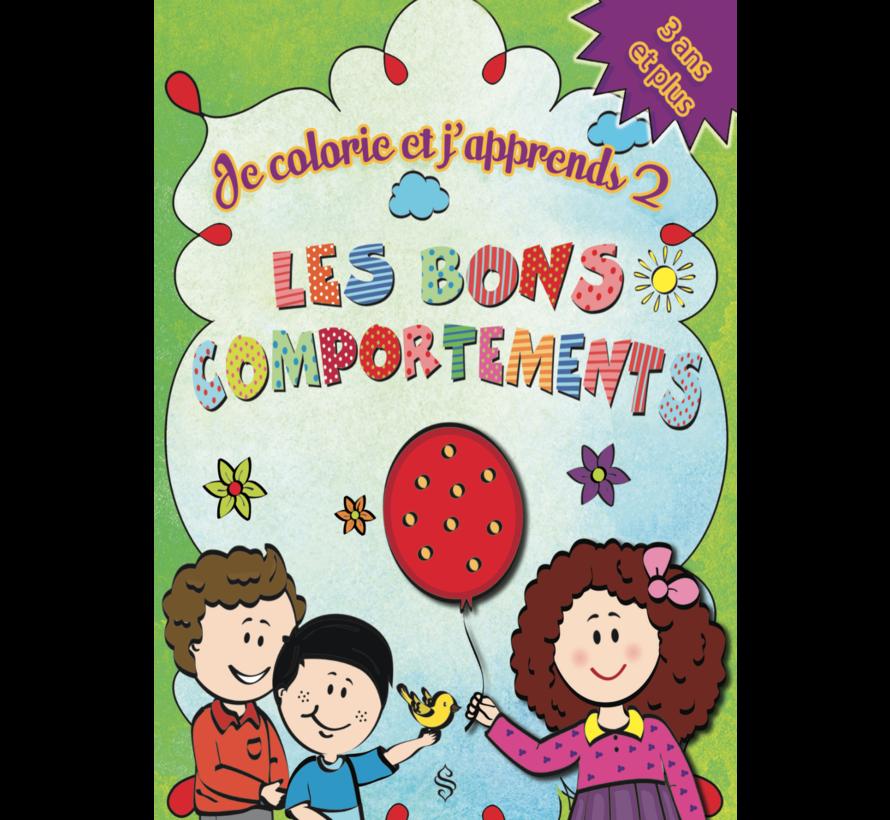 Je Colorie Et J'apprends  4 Livres