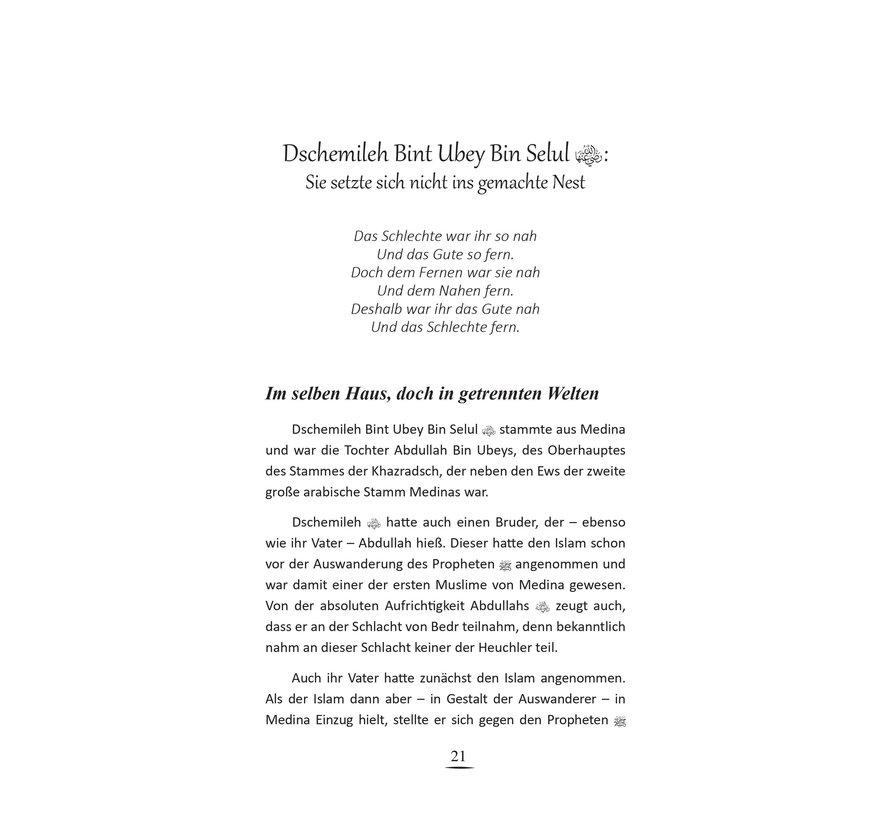 Die Gefährtinnen Muhammeds (Sallallahu Aleyhi We Sellem)