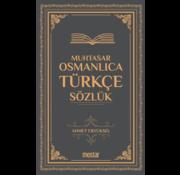 Mostar Yayınları Muhtasar (Küçük) Osmanlıca Türkçe Sözlük
