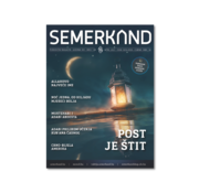 Dergi Semerkand Zeitschrift auf Bosnisch