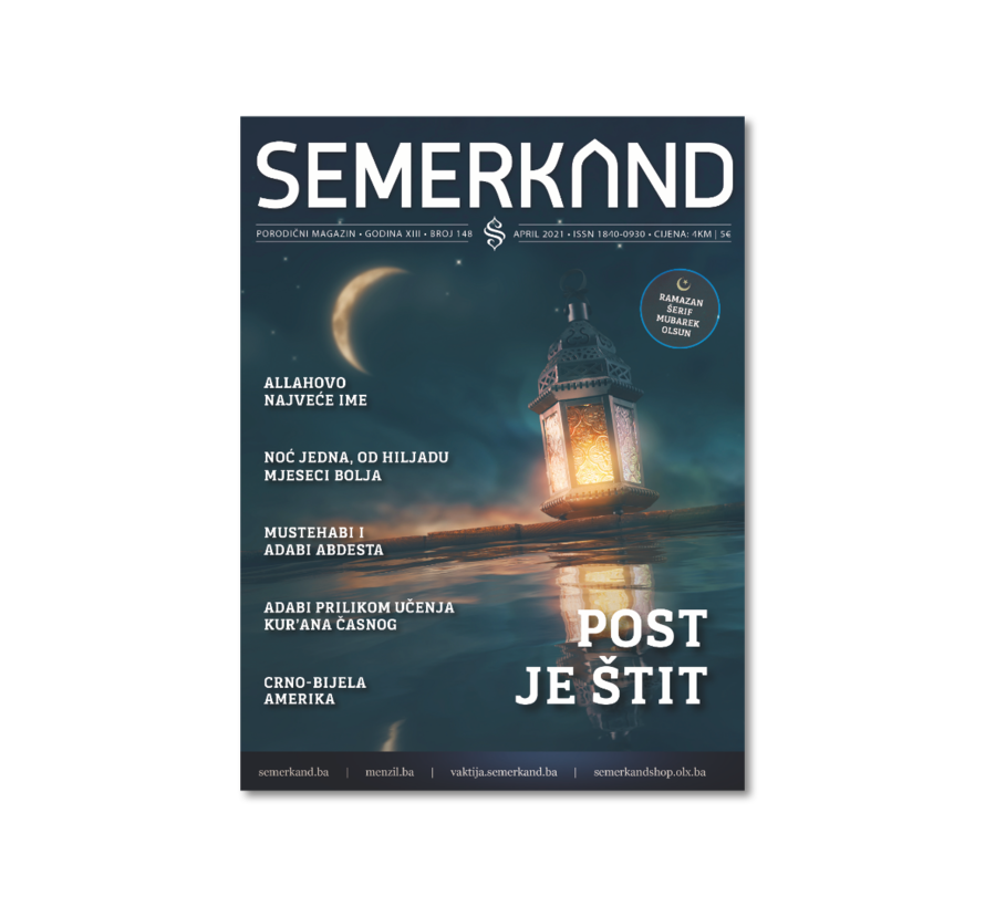 Semerkand  Zeitschrift auf Bosnisch