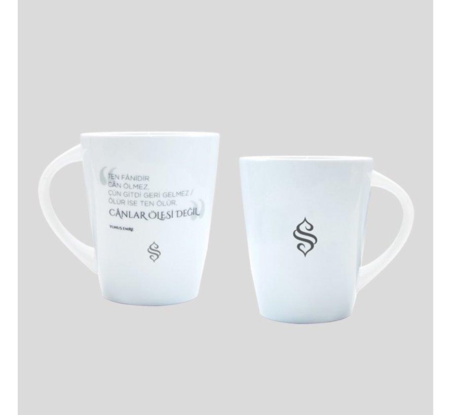 Semerkand Porselen Kupa Bardakları (7 farklı Bardak Seçenceği)