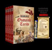 Ahıska Yayınevi Belgelerle Osmanlı Tarihi (4 Cilt Takım, Ferman Hediyeli)
