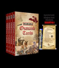 Belgelerle Osmanlı Tarihi (4 Cilt Takım, Ferman Hediyeli)