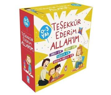 Timaş Çocuk Teşekkür Ederim Allahım Seti - 4 Kitap Takım