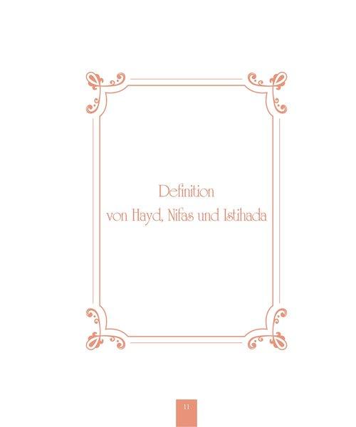Erol Medien Verlag Frauenfragen zu besonderen Tagen (Hayd, Nifas, Istihade) 2. Auflage