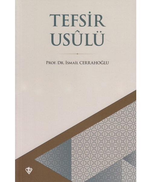 Diyanet Vakfı Yayınları Tefsir Usulü