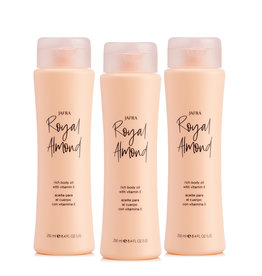 Jafra Royal Almond Body Oil 3x