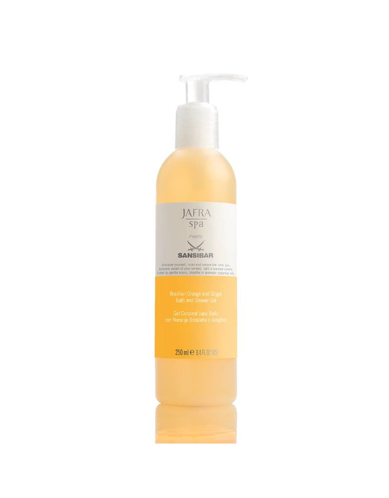 Jafra Sansibar Brazilian Orange and Ginger Shower Gel