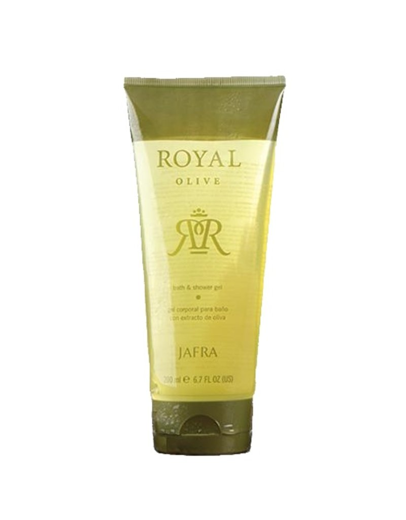 Jafra Royal Olive Bath & Shower Gel - Koninklijke Lichaamsverzorging