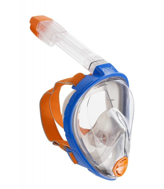 Oceanreef Aria snorkelmasker Blauw