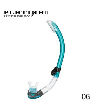 Tusa Tusa Platina II Transparant Snorkel