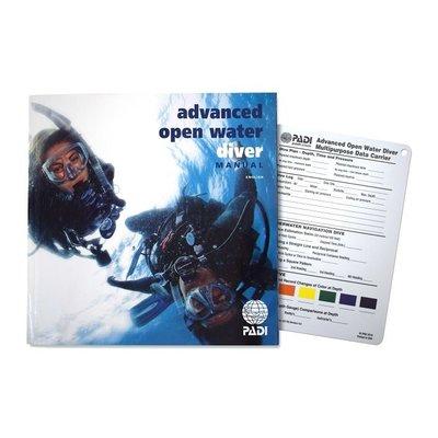 PADI Advanced Open Water cursusboek